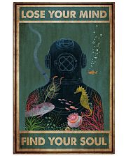 Diver Lose Your Mind 24x36 Poster front