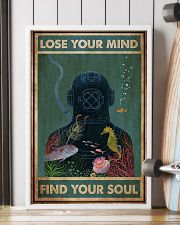 Diver Lose Your Mind 24x36 Poster lifestyle-poster-4