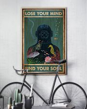 Diver Lose Your Mind 24x36 Poster lifestyle-poster-7