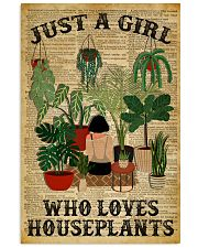 Just A Girl Who Loves Houseplants Dictionary 24x36 Poster front