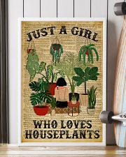 Just A Girl Who Loves Houseplants Dictionary 24x36 Poster lifestyle-poster-4