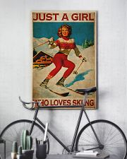 Just A Girl Loves Skiing 24x36 Poster lifestyle-poster-7