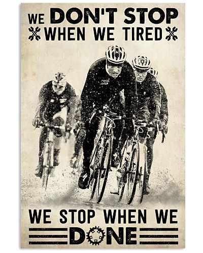 We Don't Stop Cycling