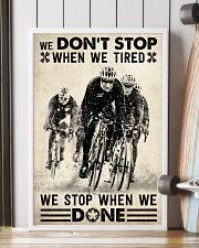We Don't Stop Cycling 24x36 Poster lifestyle-poster-4