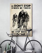 We Don't Stop Cycling 24x36 Poster lifestyle-poster-7