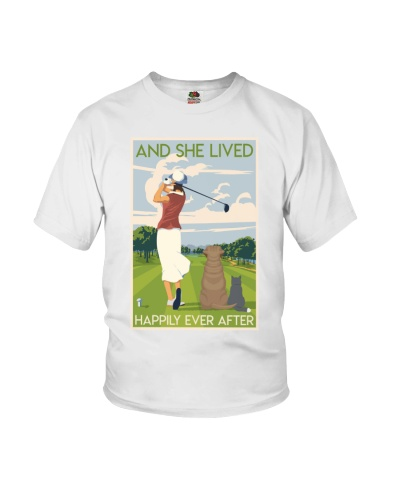Golf Course Girl Lived Happily