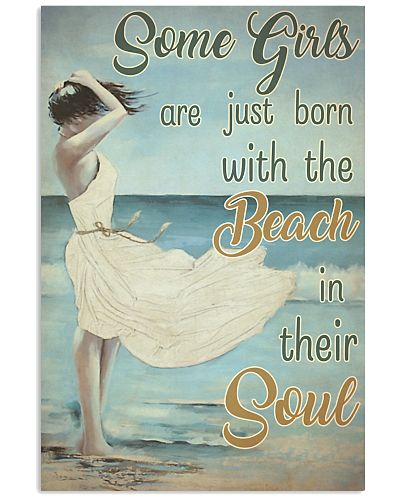 Some Girls Born With The Beach Painting