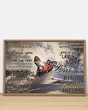 Snowmobile Good Day 36x24 Poster poster-landscape-36x24-lifestyle-03