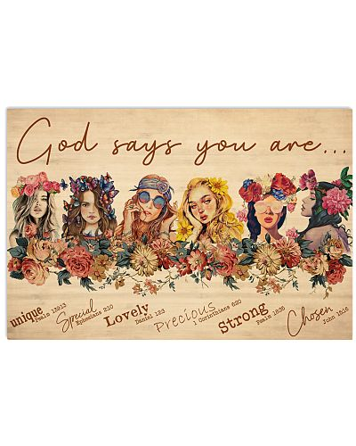Hippie Girls God Says You Are