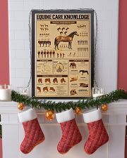 Equine Care Knowledge 16x24 Poster lifestyle-holiday-poster-4