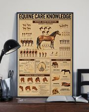 Equine Care Knowledge 16x24 Poster lifestyle-poster-2