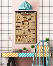 Equine Care Knowledge 16x24 Poster lifestyle-poster-6