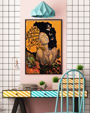 Afro Girl Butterfly 24x36 Poster lifestyle-poster-6