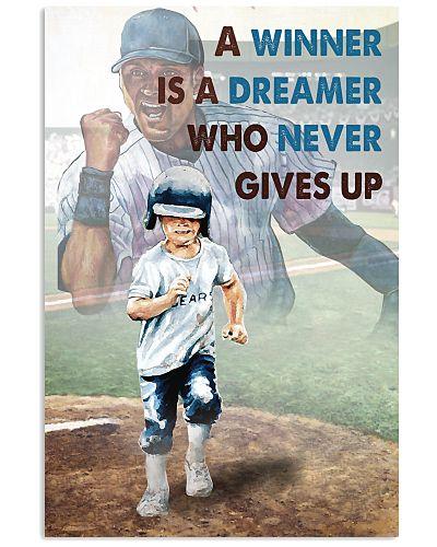 Baseball Never Gives Up