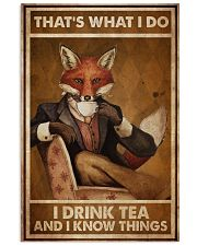 Fox Thats What I Do  24x36 Poster front
