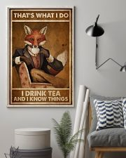 Fox Thats What I Do  24x36 Poster lifestyle-poster-1