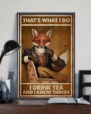 Fox Thats What I Do  24x36 Poster lifestyle-poster-2