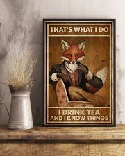 Fox Thats What I Do  24x36 Poster lifestyle-poster-3