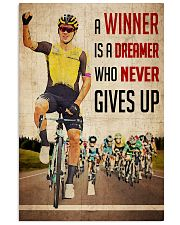 Cycling Winner Dreamer 24x36 Poster front