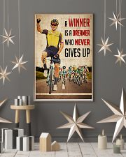 Cycling Winner Dreamer 24x36 Poster lifestyle-holiday-poster-1