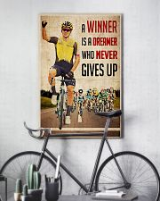 Cycling Winner Dreamer 24x36 Poster lifestyle-poster-7