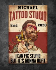 Tattoo Studio I Can Fix Stupid 24x36 Poster aos-poster-portrait-24x36-lifestyle-12
