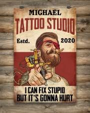 Tattoo Studio I Can Fix Stupid 24x36 Poster aos-poster-portrait-24x36-lifestyle-14