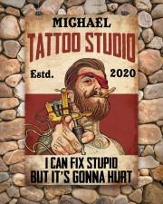 Tattoo Studio I Can Fix Stupid 24x36 Poster aos-poster-portrait-24x36-lifestyle-15
