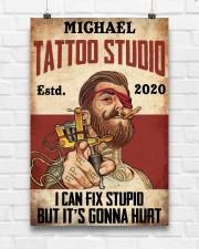 Tattoo Studio I Can Fix Stupid 24x36 Poster aos-poster-portrait-24x36-lifestyle-17