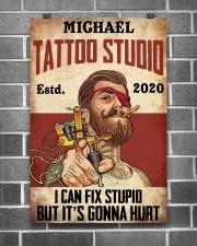 Tattoo Studio I Can Fix Stupid 24x36 Poster aos-poster-portrait-24x36-lifestyle-18