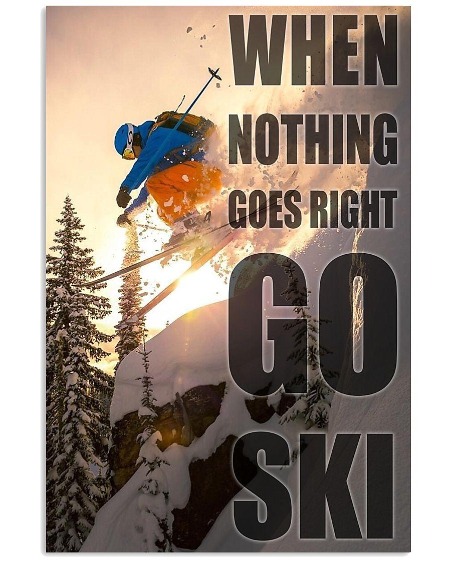 Go Ski 24x36 Poster
