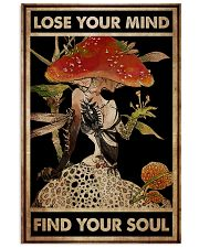 Mushroom Girl Lose Your Mind  24x36 Poster front