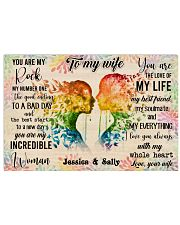 Lesbian Color To My Wife  36x24 Poster front