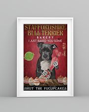 Staffordshire Bull Terrier Fucupcakes 24x36 Poster lifestyle-poster-5