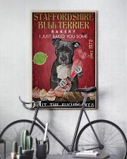 Staffordshire Bull Terrier Fucupcakes 24x36 Poster lifestyle-poster-7