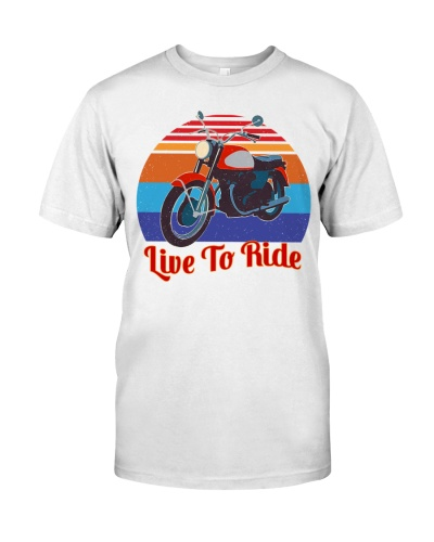 Motorcycling Live To Ride