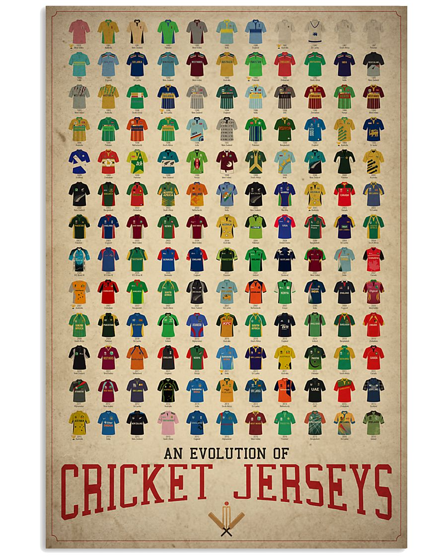An Evolution Of Cricket 24x36 Poster
