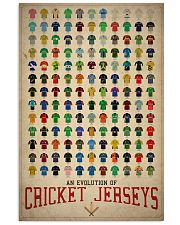 An Evolution Of Cricket 24x36 Poster front