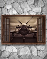 Aircraft Front Window  36x24 Poster aos-poster-landscape-36x24-lifestyle-12