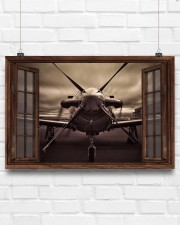 Aircraft Front Window  36x24 Poster aos-poster-landscape-36x24-lifestyle-16