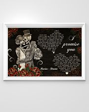 Sugar Skull Couple I Promise You 36x24 Poster poster-landscape-36x24-lifestyle-02