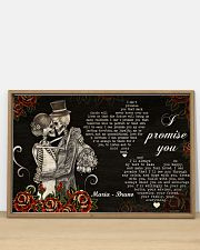 Sugar Skull Couple I Promise You 36x24 Poster poster-landscape-36x24-lifestyle-03