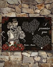 Sugar Skull Couple I Promise You 36x24 Poster poster-landscape-36x24-lifestyle-15