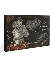 Sugar Skull Couple I Promise You Gallery Wrapped Canvas Prints tile