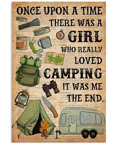 Girl Loved Camping