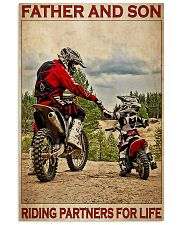 Father And Son Motocross 24x36 Poster front