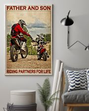Father And Son Motocross 24x36 Poster lifestyle-poster-1
