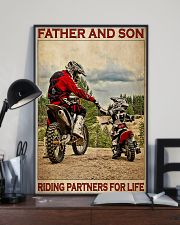 Father And Son Motocross 24x36 Poster lifestyle-poster-2