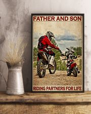 Father And Son Motocross 24x36 Poster lifestyle-poster-3