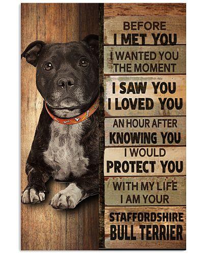 Staffordshire Bull Terrier Before I Met You